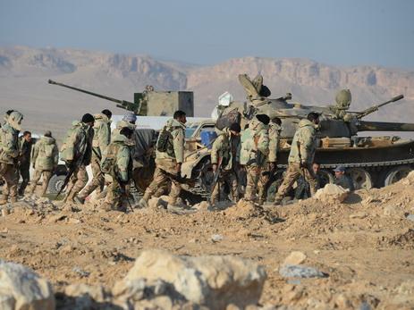 Сирийская армия выбила боевиковИГ изЭль-Карьятейна