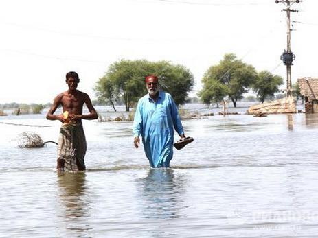 Жертвами наводнений вПакистане стали больше 30 человек