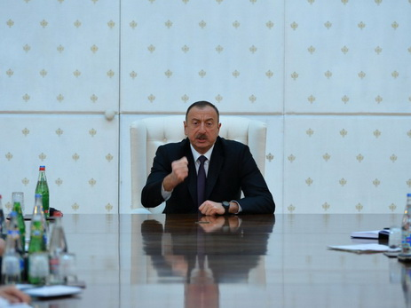 Ильхам Алиев на заседании Совета безопасности: Другого пути нет! - ВИДЕО