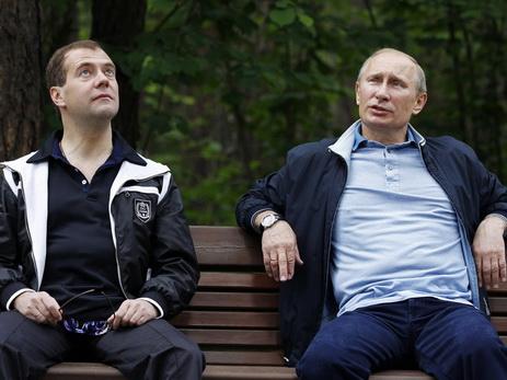 Дмитрий Медведев предложил Владимиру Путину измениться