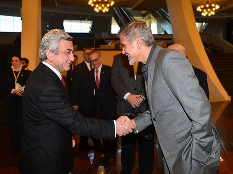 Джордж Клуни продержался в Армении всего нескольких дней – ФОТО