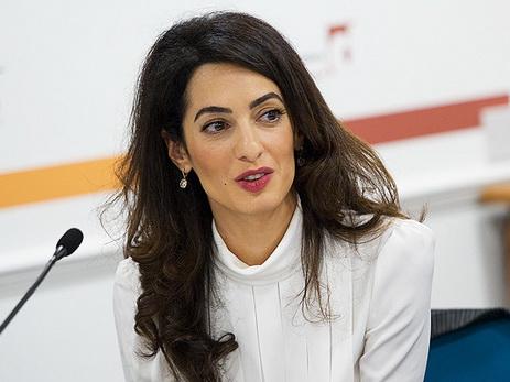 Амаль Клуни вновь подтвердила намерение защищать Хадиджу Исмайлову