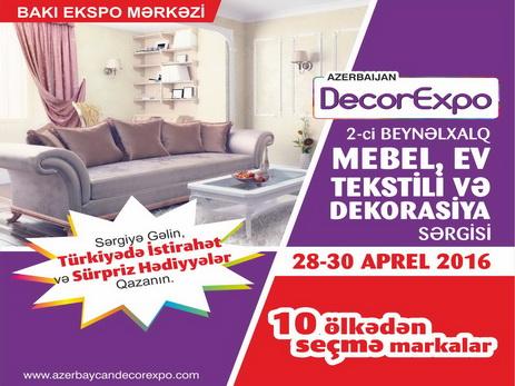 """""""Azərbaycan Decorexpo-2016"""" öz qapılarını sərgi iştirakçılarının üzünə açır – FOTO"""