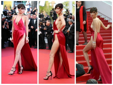Названо самое скандальное платье Каннского фестиваля 2016 – ФОТО