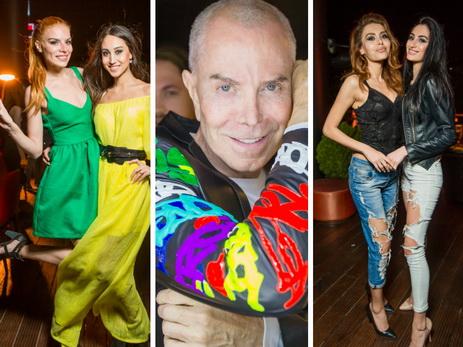 Модели, дизайнеры и гости Азербайджанской недели моды на серии клубных after-party – ФОТО