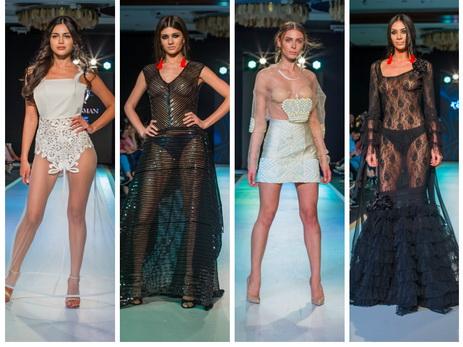 Самые откровенные дизайнерские образы на подиуме Azerbaijan Fashion Week – ФОТО