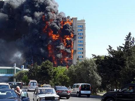 Начался суд по делу о страшном пожаре в доме на проспекте Азадлыг