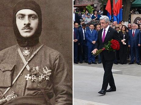 Нацистский ублюдок Гарегин Нжде, Серж Саргсян и армянский шовинизм — это единое целое…