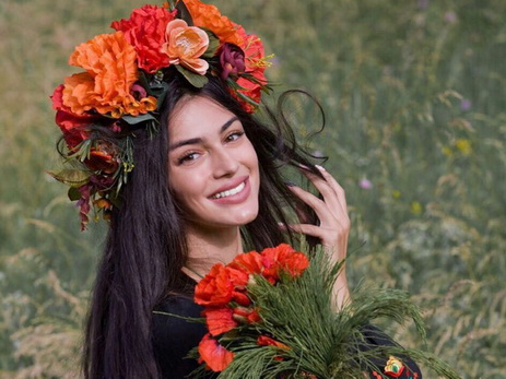 Феридэ Ибрагимова снялась в проекте «Все мы дети твои, Украина» - ФОТО