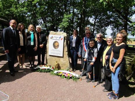 Во Франции установлена мемориальная доска в честь Ахмедии Джебраилова – ФОТО