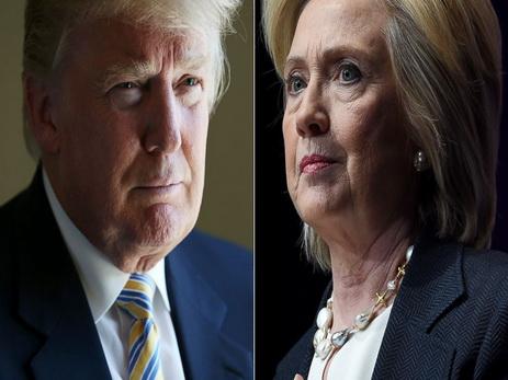 Данные соцопросов: Клинтон отрывается отТрампа впрезидентской гонке