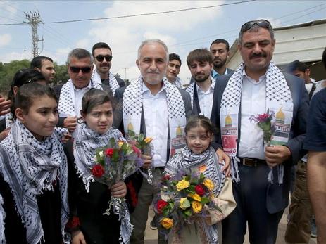 Турецкая гуманитарная помощь для сектора Газа прибыла вИзраиль