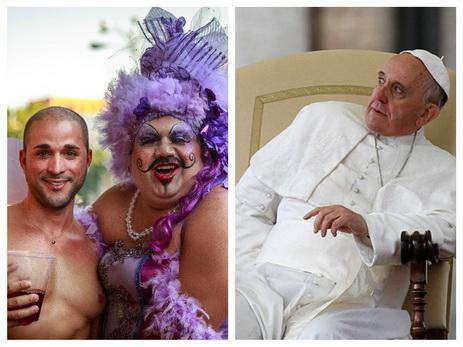 Папа против гомосексуалистов