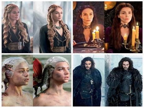 РЕН ТВ превратил российских звезд в героев «Игры престолов»