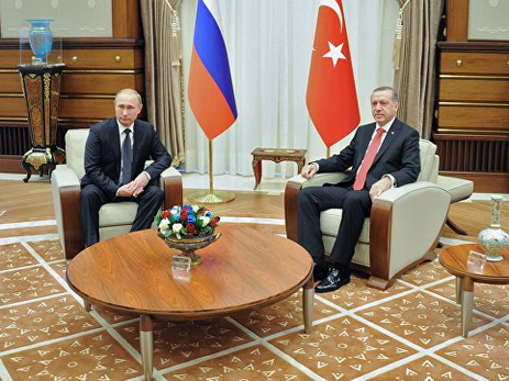 ВПетербурге началась встреча Владимира Путина иЭрдогана