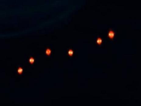 НЛО ввиде «огненных шаров» засняли над Сан-Диего