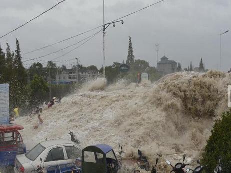 Число пострадавших вовремя тайфуна «Миндаль» вЯпонии возросло до67