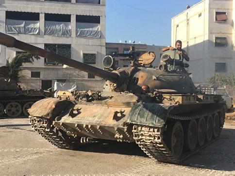 ВСирии допустили привлечение частной военной компании косвобождению Алеппо