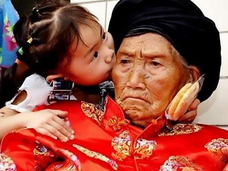 В КНР скончалась старейшая женщина планеты