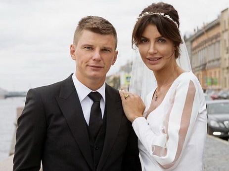 Новобрачные Андрей Аршавин иАлиса Казьмина ожидают ребенка