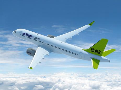 Аварийная посадка самолета airBaltic нарушила работу аэропорта вРиге