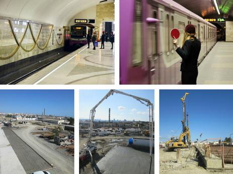На территории Baku White City строится новая станция метро - ФОТО