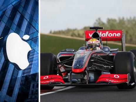 Apple планирует приобрести производителя спорткаров МакЛарен