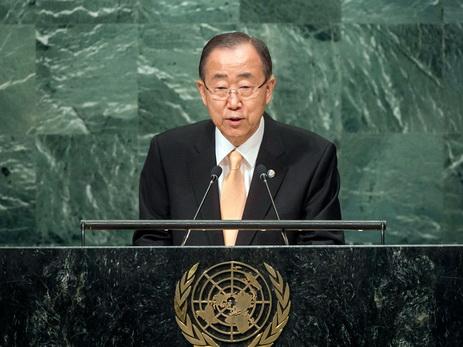 Генеральный секретарь ООН призвал кскорейшему согласию ближневосточного конфликта