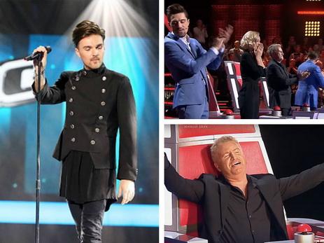 Александр Панайотов стал сенсацией 5-ого сезона шоу «Голос»