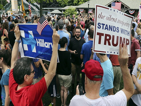 Трамп пригрозил позвать напрезидентские дебаты бывшую любовницу Билла Клинтона