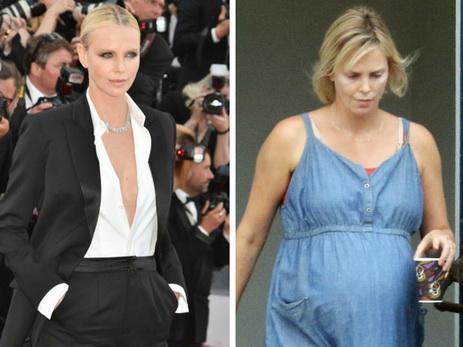Шарлиз Терон поправилась ради новейшей роли на16 килограммов