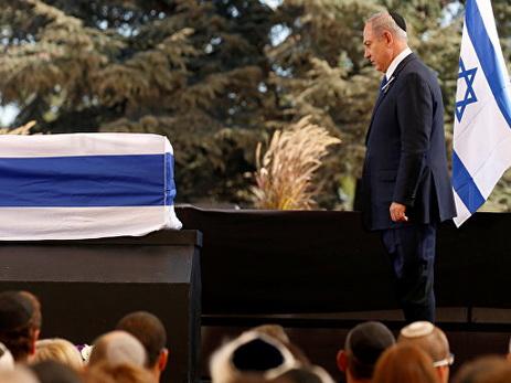 Израиль прощается сПересом