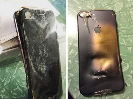 Постопам Sаmsung: новый iPhone 7 взорвался в КНР