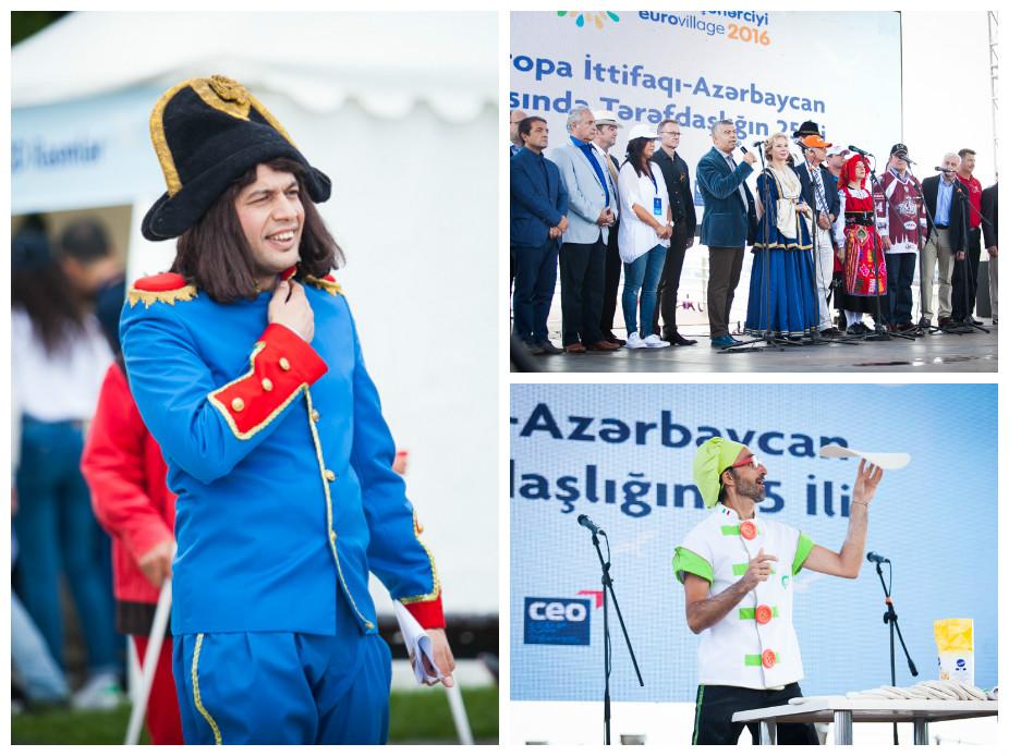 «Еврогородок» на Приморском бульваре: дух Европы в центре Баку – ФОТО