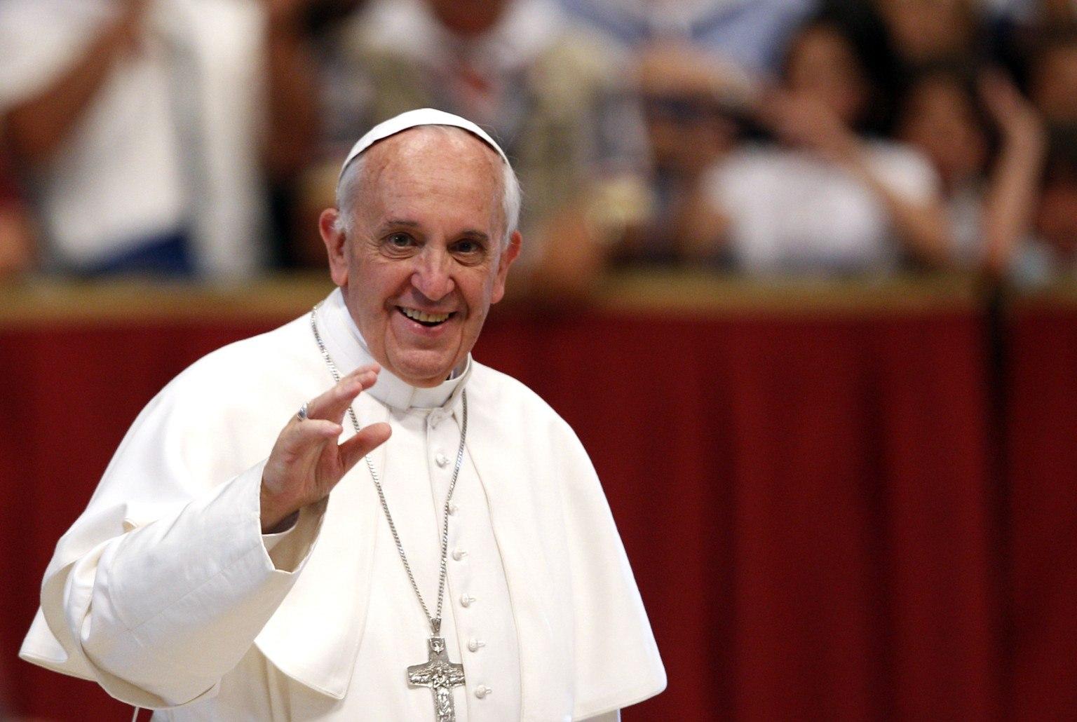 Папа Римский отслужил мессу вТбилиси