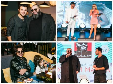 Максим Фадеев открыл 1-ый в столицеРФ детский музыкальный ресторан