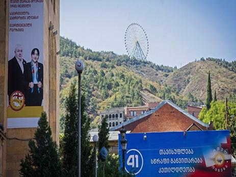 Навыборах вГрузии проголосовали уже неменее 10% избирателей