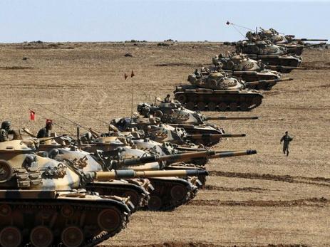 Турецкие ВВС устранили около 200 сирийских курдов