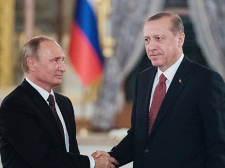Песков: Путин иЭрдоган говорят начувствительные темы