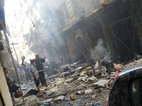 Террористы обстреляли школу игумкоридор вАлеппо