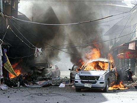 ВИраке смертники взорвали две машины скорой помощи