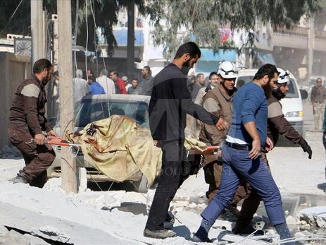 Anadolu: авиация Российской Федерации сбросила зажигательные бомбы врайоне Дамаска