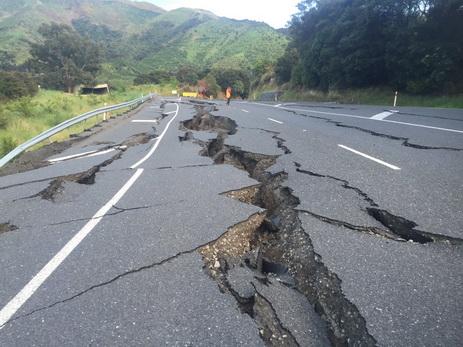 В новейшей Зеландии после землетрясения зафиксировали неменее 400 афтершоков