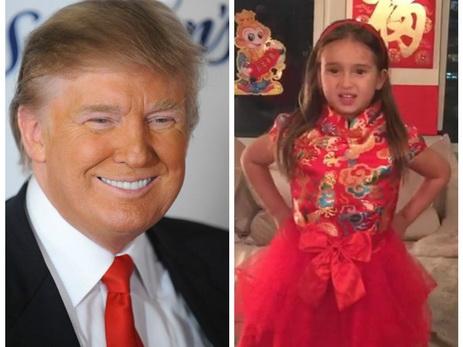 Внучка Трампа стала сенсацией в КНР