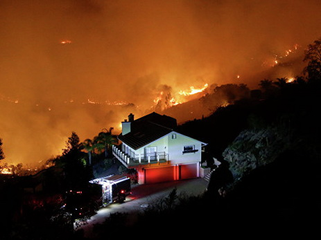 Вштате Теннесси натерритории государственного парка начался крупный пожар: необошлось без жертв