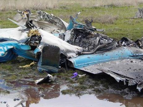 Взорвался полицейский самолет с12 пассажирами