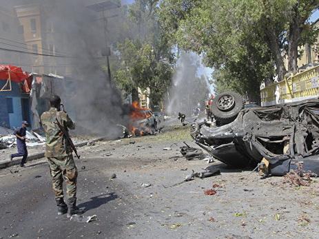 Встолице Сомали произошел взрыв, десятки погибших ираненых