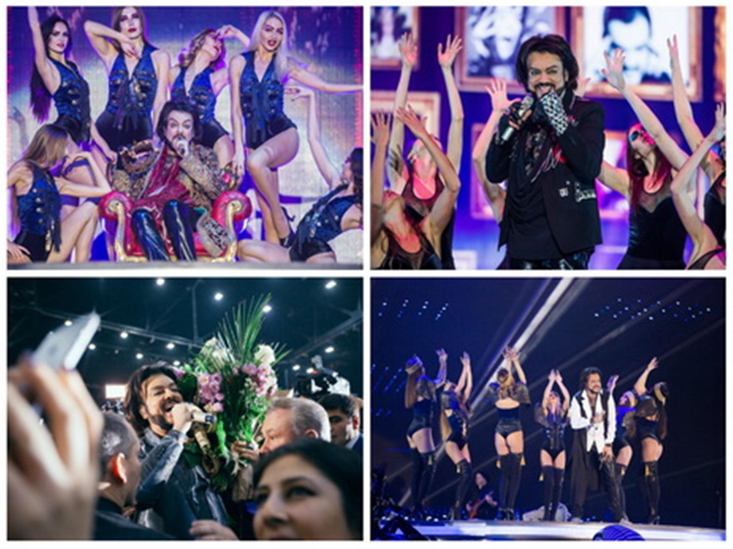 Самые яркие моменты грандиозного шоу Филиппа Киркорова в Баку – ФОТО – ВИДЕО