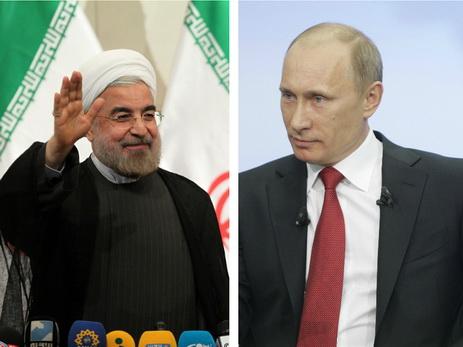 Владимир Путин иХасан Роухани обсудили ситуацию вСирии