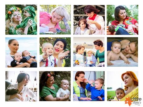 Успешные мамы и их дети снялись в социальном проекте – ФОТО – ВИДЕО